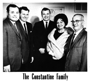 Constantine family photo in happier days
