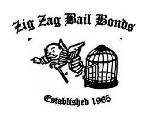 ZIG ZAG BAIL BOND specimen
