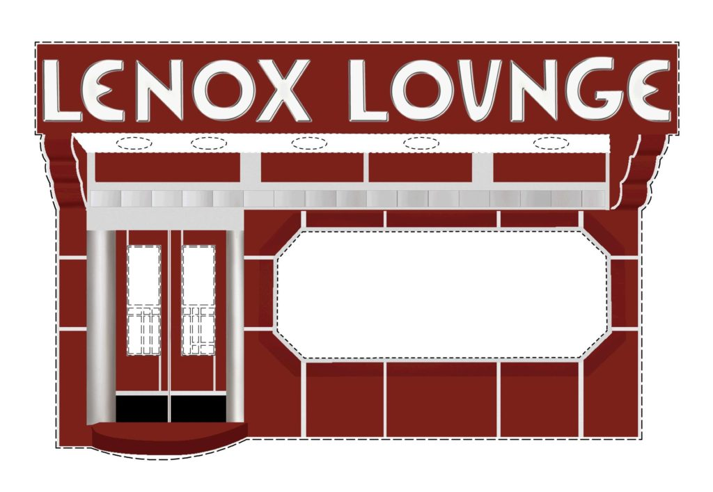 Lenox Lounge drawing
