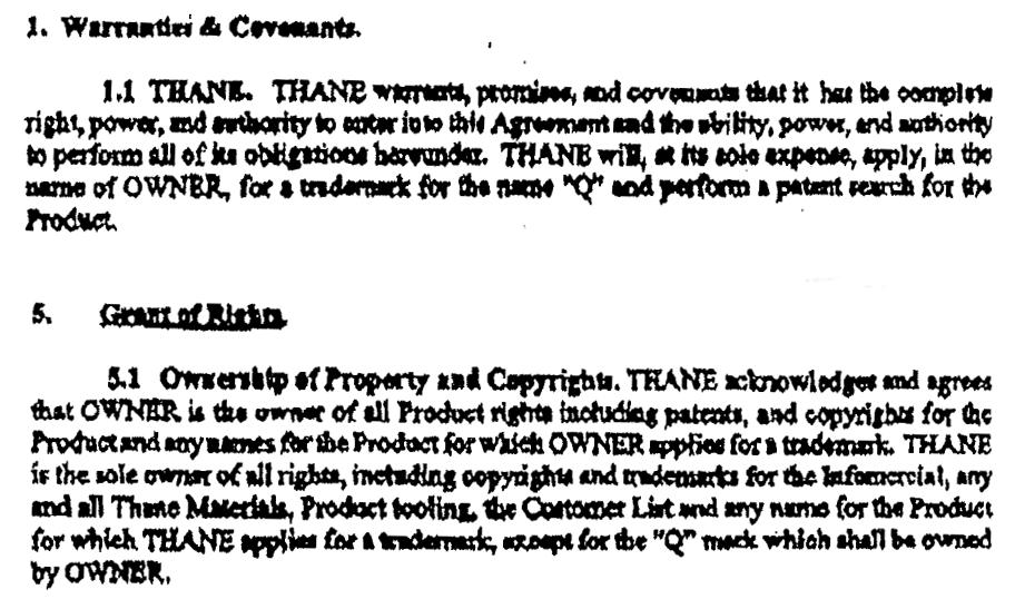 PEM Agreement clip